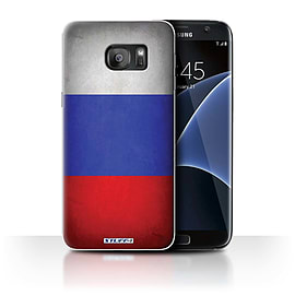 STUFF4 Case/Cover for Samsung Galaxy S7 Edge/G935 / Russia/Russian Design / Flags Collection Mobile phones