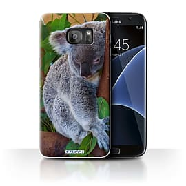 STUFF4 Case/Cover for Samsung Galaxy S7 Edge/G935 / Koala Bear Design / Wildlife Animals Collection Mobile phones