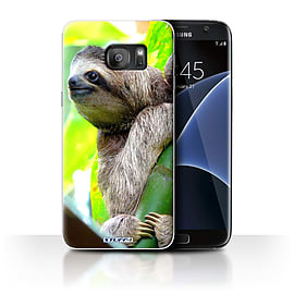 STUFF4 Case/Cover for Samsung Galaxy S7 Edge/G935 / Sloth Design / Wildlife Animals Collection Mobile phones
