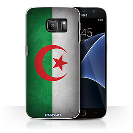 STUFF4 Case/Cover for Samsung Galaxy S7/G930 / Algeria/Algerian Design / Flags Collection Mobile phones