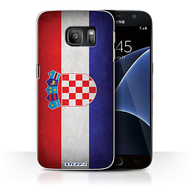 STUFF4 Case/Cover for Samsung Galaxy S7/G930 / Croatia/Croatian Design / Flags Collection Mobile phones