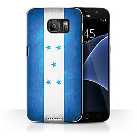 STUFF4 Case/Cover for Samsung Galaxy S7/G930 / Honduras/Honduran Design / Flags Collection Mobile phones