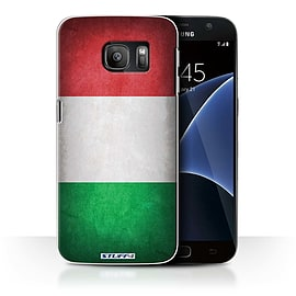 STUFF4 Case/Cover for Samsung Galaxy S7/G930 / Italy/Italian Design / Flags Collection Mobile phones