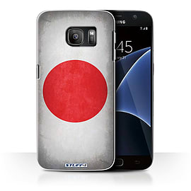 STUFF4 Case/Cover for Samsung Galaxy S7/G930 / Japan/Japanese Design / Flags Collection Mobile phones