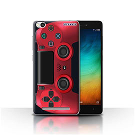 STUFF4 Case/Cover for Xiaomi Redmi 3 / Red Design / Playstation PS4 Collection Mobile phones