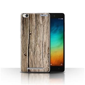 STUFF4 Case/Cover for Xiaomi Redmi 3 / Driftwood Design / Wood Grain Effect/Pattern Collection Mobile phones