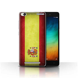 STUFF4 Case/Cover for Xiaomi Redmi 3 / Spain/Spanish Design / Flags Collection Mobile phones
