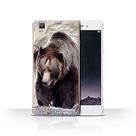 STUFF4 Case/Cover for Oppo F1 / Bear Design / Wildlife Animals Collection Mobile phones