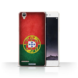 STUFF4 Case/Cover for Oppo F1 / Portugal/Portuguese Design / Flags Collection Mobile phones