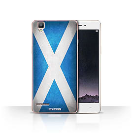 STUFF4 Case/Cover for Oppo F1 / Scotland/Scottish Design / Flags Collection Mobile phones