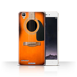 STUFF4 Case/Cover for Oppo F1 / Sunburst Acoustic Design / Guitar Collection Mobile phones