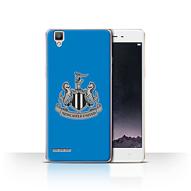 Official Newcastle United FC Case/Cover for Oppo F1/Mono/Blue Design/NUFC Football Crest Mobile phones