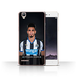 Official Newcastle United FC Case/Cover for Oppo F1/Rivi?re Design/NUFC Football Player 15/16 Mobile phones