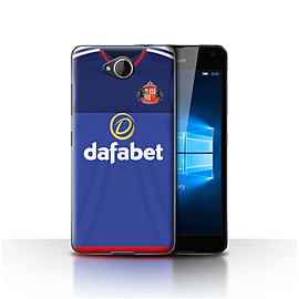 Sunderland AFC Case/Cover for Microsoft Lumia 650/Goalkeeper Design/SAFC Home Shirt/Kit 15/16 Mobile phones