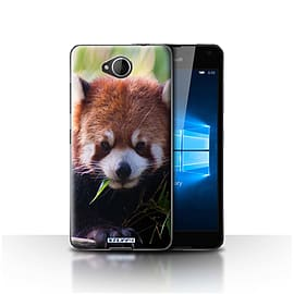 STUFF4 Case/Cover for Microsoft Lumia 650 / Racoon Design / Wildlife Animals Collection Mobile phones
