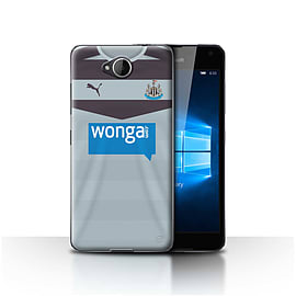 Newcastle United FC Case/Cover for Microsoft Lumia 650/Goalkeeper Design/NUFC Away Shirt/Kit 15/16 Mobile phones