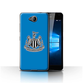 Official Newcastle United FC Case/Cover for Microsoft Lumia 650/Mono/Blue Design/NUFC Football Crest Mobile phones