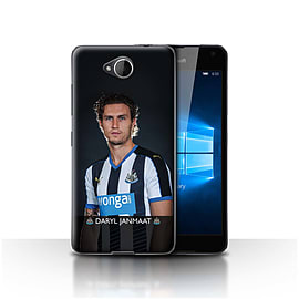 Newcastle United FC Case/Cover for Microsoft Lumia 650/Janmaat Design/NUFC Football Player 15/16 Mobile phones