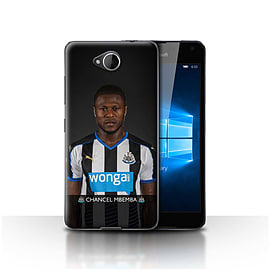 Newcastle United FC Case/Cover for Microsoft Lumia 650/Mbemba Design/NUFC Football Player 15/16 Mobile phones