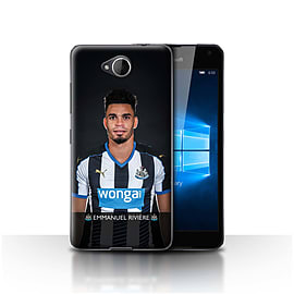 Newcastle United FC Case/Cover for Microsoft Lumia 650/Rivi?re Design/NUFC Football Player 15/16 Mobile phones