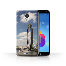 STUFF4 Case/Cover for Meizu M3 Note / London Eye Design / Imagine It Collection Mobile phones