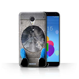 STUFF4 Case/Cover for Meizu M3 Note / Tunnel Vision Design / Imagine It Collection Mobile phones