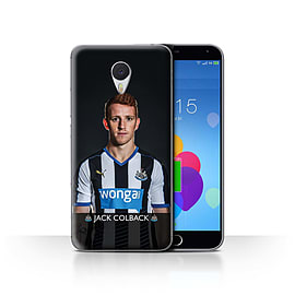 Official Newcastle United FC Case/Cover for Meizu M3 Note/Colback Design/NUFC Football Player 15/16 Mobile phones