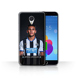 Newcastle United FC Case/Cover for Meizu M3 Note/Lascelles Design/NUFC Football Player 15/16 Mobile phones