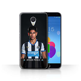 Official Newcastle United FC Case/Cover for Meizu M3 Note/Ayoze Design/NUFC Football Player 15/16 Mobile phones