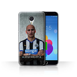 Official Newcastle United FC Case/Cover for Meizu M3 Note/Shelvey Design/NUFC Football Player 15/16 Mobile phones
