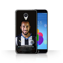 Official Newcastle United FC Case/Cover for Meizu M3 Note/Townsend Design/NUFC Football Player 15/16 Mobile phones