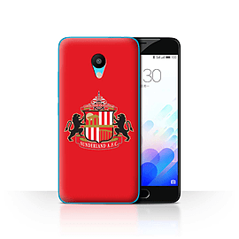 Official Sunderland AFC Case/Cover for Meizu M3 / Red Design / SAFC Football Club Crest Collection Mobile phones
