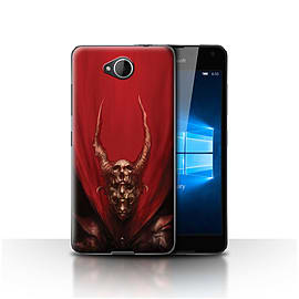 Official Chris Cold Case/Cover for Microsoft Lumia 650 / Red Duke Design / Dark Art Demon Collection Mobile phones