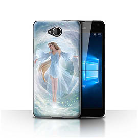 STUFF4 Case/Cover for Microsoft Lumia 650 / Air Dress Design / Fantasy Angel Collection Mobile phones