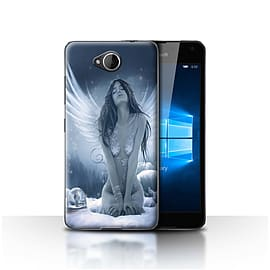 STUFF4 Case/Cover for Microsoft Lumia 650 / La Nieve Design / Fantasy Angel Collection Mobile phones