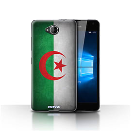 STUFF4 Case/Cover for Microsoft Lumia 650 / Algeria/Algerian Design / Flags Collection Mobile phones