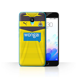 Official Newcastle United FC Case/Cover for Meizu M3/Goalkeeper Design/NUFC Home Shirt/Kit 15/16 Mobile phones