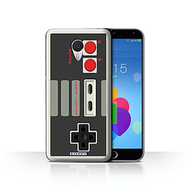 STUFF4 Case/Cover for Meizu M3 Note / Nintendo Classic Design / Games Console Collection Mobile phones