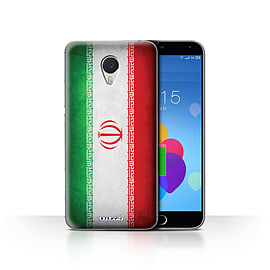STUFF4 Case/Cover for Meizu M3 Note / Iran/Iranian Design / Flags Collection Mobile phones
