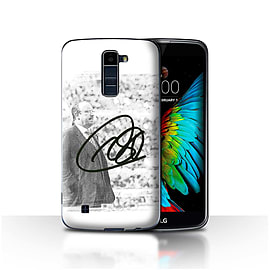 Official Newcastle United FC Case/Cover for LG K10 /K420/K430/Autograph Design/NUFC Rafa Ben?tez Mobile phones
