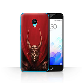 Official Chris Cold Case/Cover for Meizu M3 / Red Duke Design / Dark Art Demon Collection Mobile phones