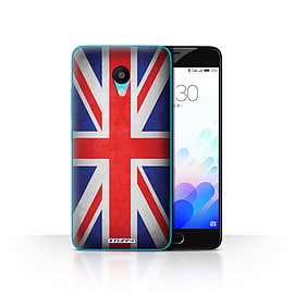 STUFF4 Case/Cover for Meizu M3 / Great Britain/British Design / Flags Collection Mobile phones