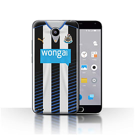 Official Newcastle United FC Case/Cover for Meizu M2/Footballer Design/NUFC Home Shirt/Kit 15/16 Mobile phones