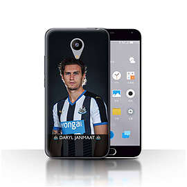 Official Newcastle United FC Case/Cover for Meizu M2/Janmaat Design/NUFC Football Player 15/16 Mobile phones