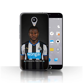 Official Newcastle United FC Case/Cover for Meizu M2/Mbemba Design/NUFC Football Player 15/16 Mobile phones