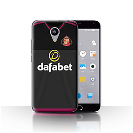 Official Sunderland AFC Case/Cover for Meizu M2/Goalkeeper Design/SAFC Away Shirt/Kit 15/16 Mobile phones