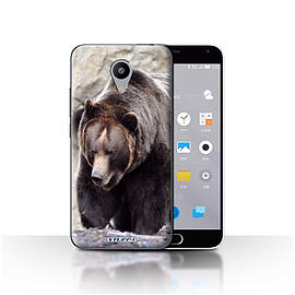 STUFF4 Case/Cover for Meizu M2 / Bear Design / Wildlife Animals Collection Mobile phones