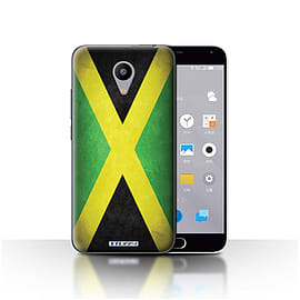 STUFF4 Case/Cover for Meizu M2 / Jamaica/Jamaican Design / Flags Collection Mobile phones