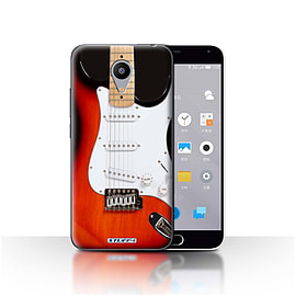 STUFF4 Case/Cover for Meizu M2 / Red Electric Design / Guitar Collection Mobile phones