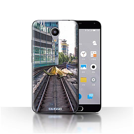STUFF4 Case/Cover for Meizu M2 / Slippery Tracks Design / Imagine It Collection Mobile phones